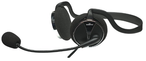 Manhattan Behind-The-Neck Stereo Headset with Flexible Boom Microphone and in-Line Volume Control (175524)