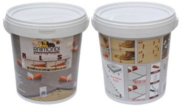 Raimondi, Leveling System Starter Kit - 100pcs wedges in bucket, 100 Regular clips & floor plier