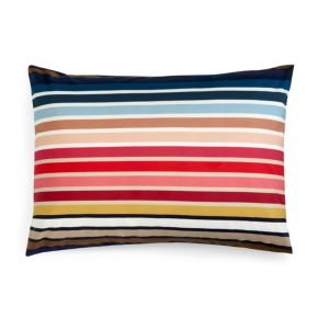 Sonia Rykiel of Paris Boudoir Sham Rue De Grenelle Striped Multi Color 100% Cotton by Sonia Rykiel
