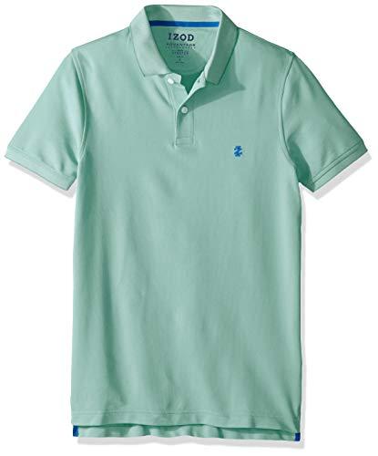IZOD Men's Advantage Performance Slim Fit Polo Shirt, florida Keys, Medium Slim