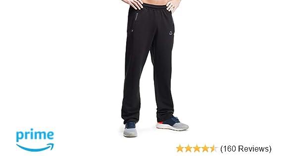 4a1a861aa306 Amazon.com  SCR Men s Workout Activewear Pants Athletic Sweatpants Long  Inseam Black Grey Blue Navy 30L 32L 34L 36L 38L  Clothing