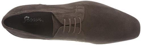 Sioux Pascu, Zapatos de Cordones Derby para Hombre marrón oscuro