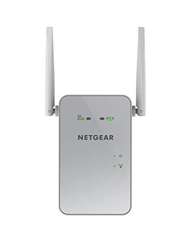 Netgear EX6150-100PES AC1200 Dual-Band Universal WLAN Range Repeater (RJ-45, 1200Mbit/s, Access Point) Weiß /silber
