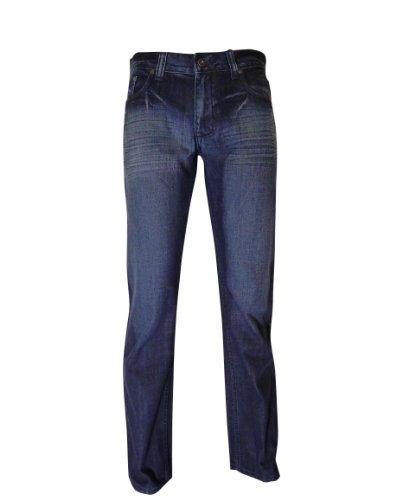 Deep Blue Wash Straight Jean - 6