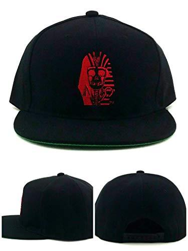 Last Kings Snapback Hat Cap Black/Red (Hat Last King Red)