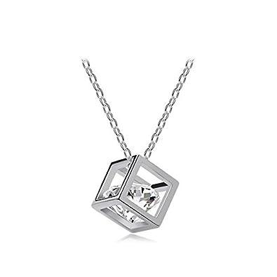 Nakabh timeless crystal stone pendant necklace for girls women nakabh timeless crystal stone pendant necklace for girls women aloadofball Choice Image