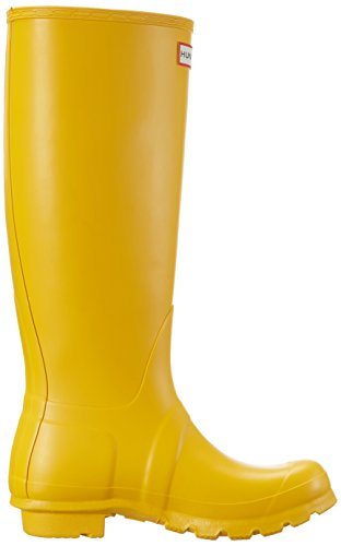 Hunter Damen Original Tall Regenstiefel Gelb