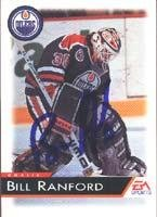 Bill Ranford Edmonton Oilers 1995 EA Sports Autographed Card. This item comes with a certificate of authenticity from Autograph-Sports. Autographed ()
