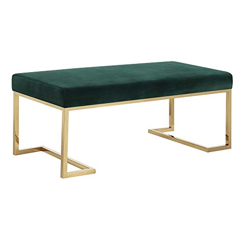 Abbey Avenue A-MON-1816BNE Montecito Upholstered Bench in - Metal Montecito