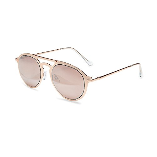 Steve Madden Women's Sm475181 Rose Gold 320 - Steve Aviator Madden Sunglasses