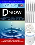 ? NON PEROXIDE TEETH WHITENING KIT by DREOW ? Home Whitener System of Powerful 5XL Non Peroxide Gel, Enhance Your Smile Now with a Complete Product, 100% GUARANTEED