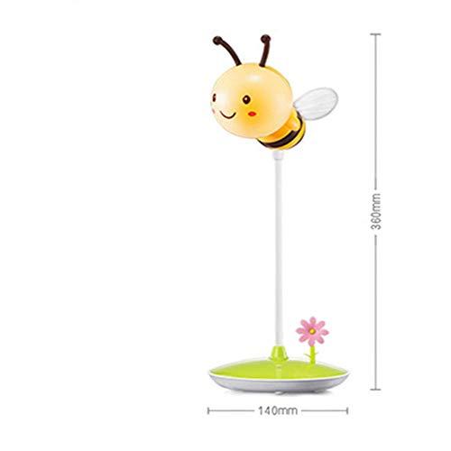 OVIIVO Creative Table Lamp Desk Lamp Bedroom Feeding Night Light Baby Newborn Baby Warm Light Charging Plug-in Children's Room Bedside Mini Cartoon Using for Reading, Working (Size : #2) by OVIIVO (Image #1)