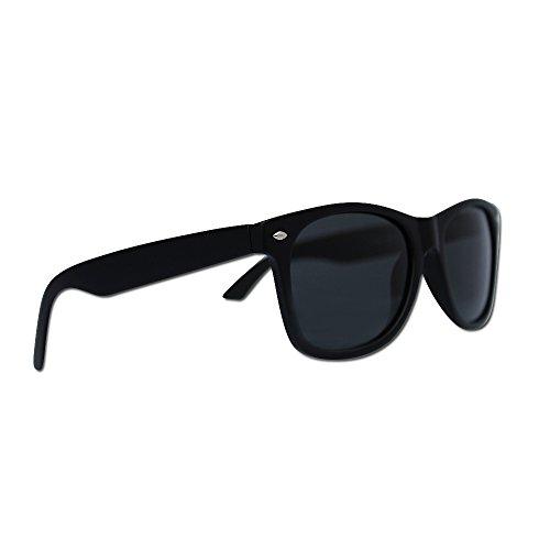 best sunglasses for women 4s4m  Polarized Wayfarer Sunglasses by Eye Love, Lightweight, 100% UV Protection  Matte Black