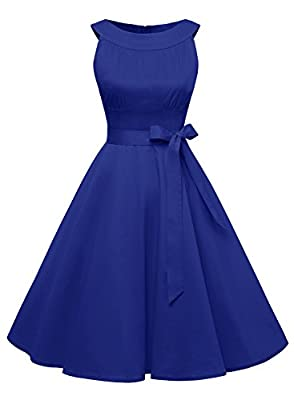 Find Dress Women 1950s Scoop Vintage Rockabilly Retro Cocktail Prom Dresses
