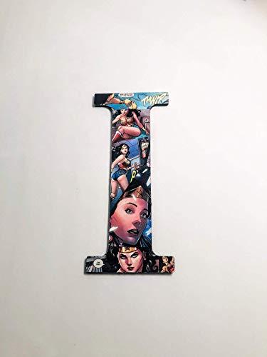 Wonder Woman, wall letters, nursery letters, wooden letters, custom letters, superhero decor, avengers, comics, kids names, kids - Letters Wall Whimsical