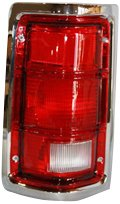 TYC 11-5060-01 Dodge Pickup Driver Side Replacement Tail Light Assembly