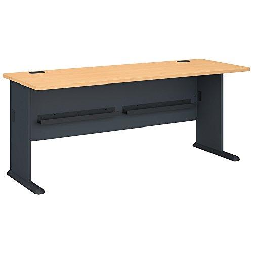 Bush Business Furniture Series A 72W Desk in Beech ()