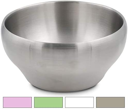 Perfect bowls for serving ice cream or hot soup Stainless Steel Double-wall Vacuum Insulated Bowl 24 oz Coffee
