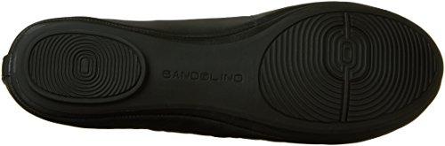 Bandolino Flat Women's Leather Ballet Edition Black TxaqRT