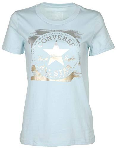 Converse Womens Metallic Core Patch Chuck Taylor T-Shirt