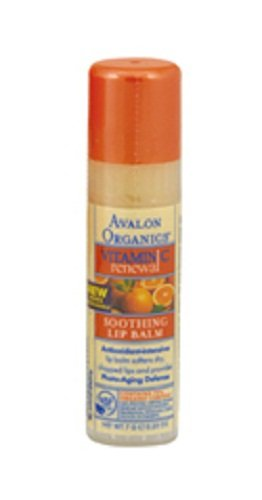 Avalon Organics Intense Defense Lip Balm, 0.25 oz. (Pack of 4)