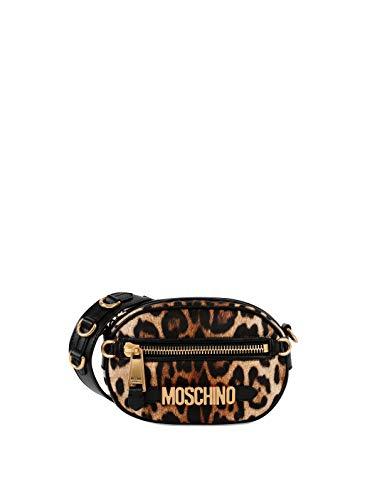 A Donna Moschino B741182111555 Borsa Marrone Poliammide Spalla 4w5q05v