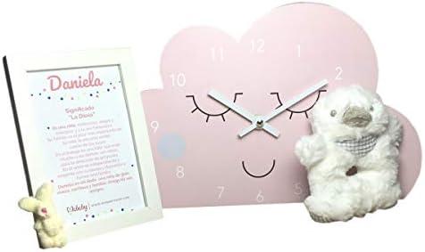 Regalos para recien nacidos /… Set regalo Bebe Modelo My Cloud Rosa