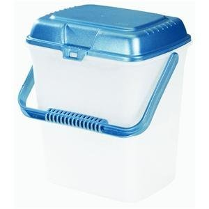 Rubbermaid Home FG696204ROYBL 2.2 Gallon Plastic Food Canister (Rubbermaid Large Canister)