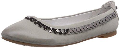 Marc Shoes 1.466.03-21/150-Bea Damen Geschlossene Ballerinas Grau (grey 150)