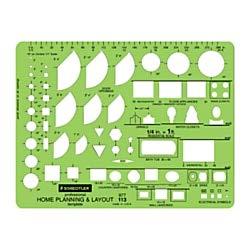 Staedtler® Mars® Template, Home Planning & ()