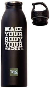 TRX Entrenamiento Botella de Agua de Acero Inoxidable