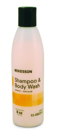 Shampoo and Body Wash McKesson 8 oz. (pack of 3) by McKesson