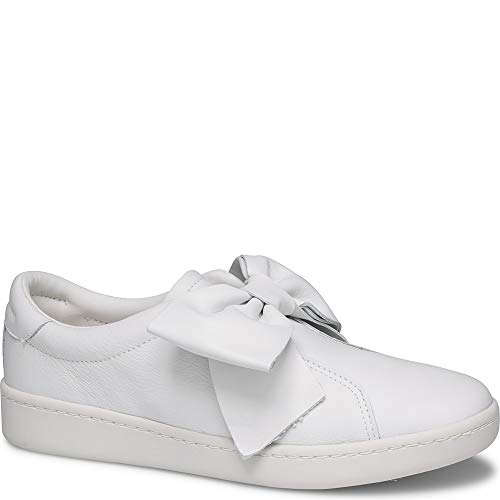 Keds Ace Bow Leather Women 8.5 White