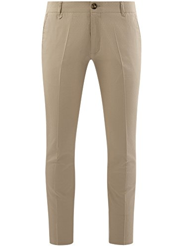 Avec Petit Pantalon En Homme 3300n Jacquard Motif Oodji Beige Coton Ultra SwBqX
