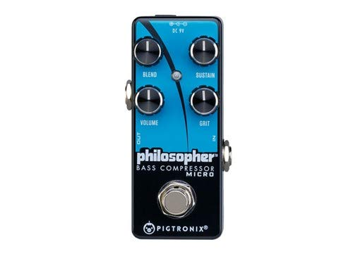 Pigtronix Philosopher Micro Bass Compressor/Sustain Pedal