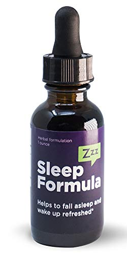 HERBA ETERNUM Natural Herbal Sleep Aid Formula with Skullcap, Passionflower, California Poppy and Catnip 1oz