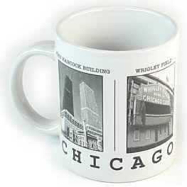 Chicago Mug - Landmarks, Chicago Mugs, Chicago Coffee Mugs, Chicago Souvenirs