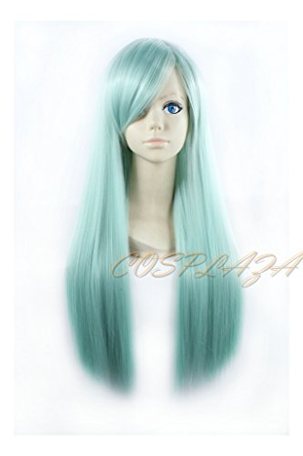 Seven Deadly Sins Halloween Costumes - COSPLAZA Cosplay Wigs Long Green Blue Halloween Fashion Party Hair