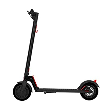 GOTRAX GXL Commuting Electric Scooter 8.5 Air Filled Tires 15.5MPH & up to 12mile Range Version 2 (V2)