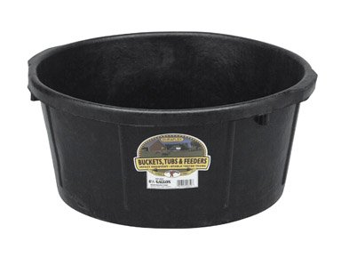 - LITTLE GIANT MILLER CO All Purpose Tub, 6.5 gallon, Black