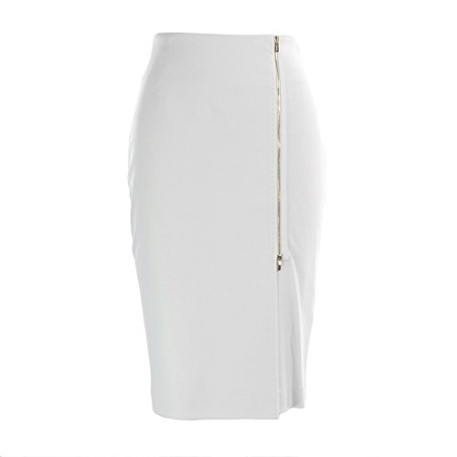 MaxMara Max Mara Women's Visita Front Zip Accent Pencil Skirt SZ 8 - Max Shop Mara