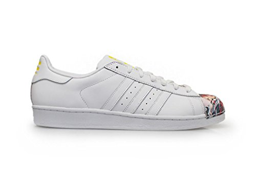 Pharrell Zapatillas para White Hombre adidas Supershell Superstar Scarlett White Stripe Sole fqaI51