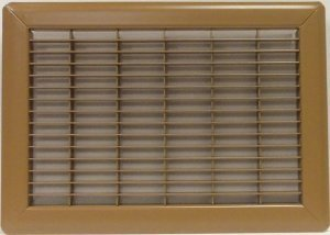 4'' X 30'' Heavy Gauge Steel Floor Grille by FloorResources