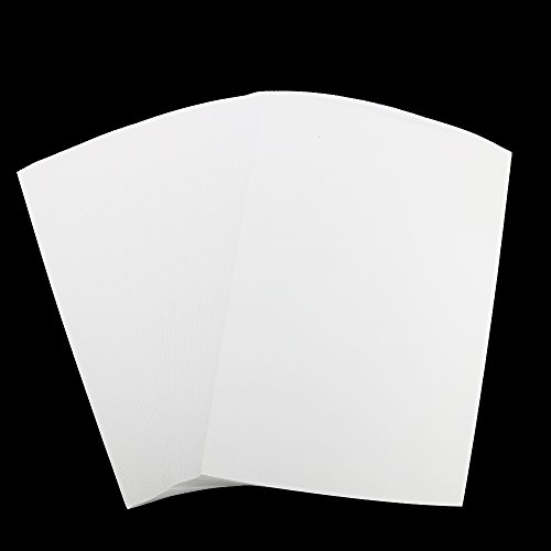 100Sheets Newbested White Watercolor Paper Cold Press Cut Bulk Pack for Beginning Artists or Students. (10 x 7 Inch) - Watercolor Paper Sheets