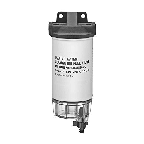 Five Oceans Fuel Water Separator Filter Kit w/Universal Ports, 3/8