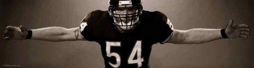 Brian Urlacher Chicago Bears Huge 19.5