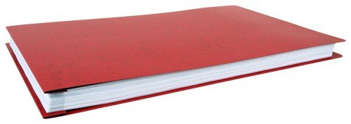 11' Landscape (11x17 Poly Pressboard Binder, Pack of 6, Red (526660))