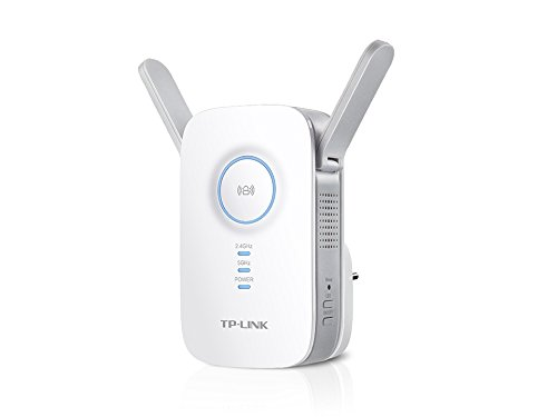 TP-Link AC1200 Wi-Fi Range Extender w/Gigabit Ethernet Port, Small Footprint w/Intelligent Signal LED Ring, (RE350) (802.11 Wireless Lan Fundamentals)