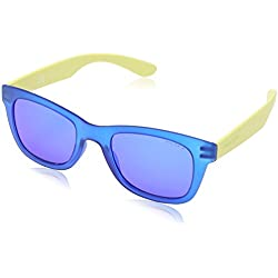 PoliceS1944 50u43b - S1944 50u43b Adulto, unisex, Blue Yellow & Purple Mirrored, 50 mm