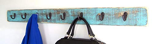 Wall Mounted Coat Rack by Out Back Craft Shack: Solid Wood Farmhouse Rustic Decor; Free Shipping